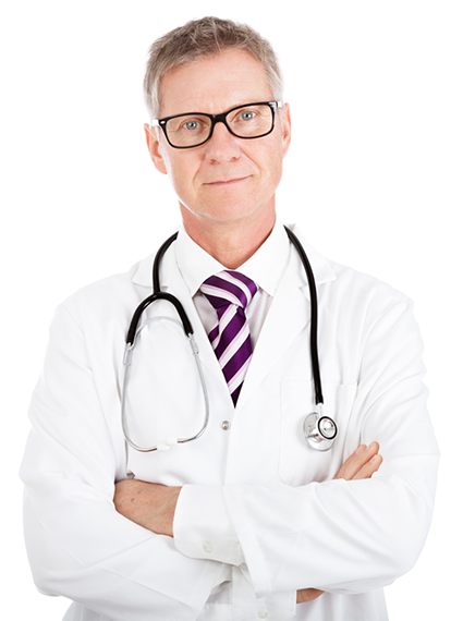 Grow Smart Marketing - Doctor with glasses
