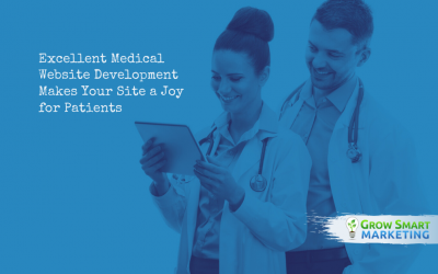 Excellent Medical Website Development Makes Your Site a Joy for Patients