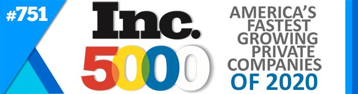 Inc. 5000 award recipient
